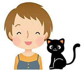 黒ネコさん(大)