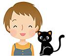 黒ネコさん(小)