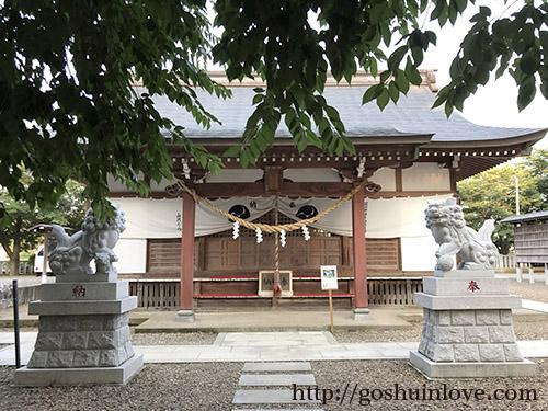 結城諏訪神社本殿