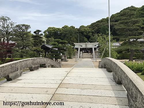 二の鳥居と神橋