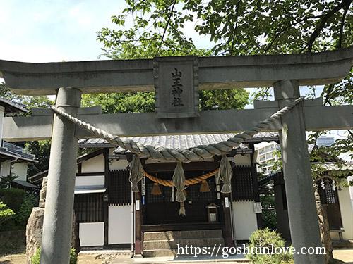 山王神社鳥居