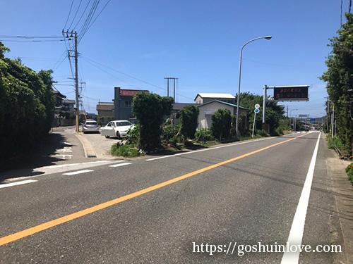 瀧淵神社に行く道2