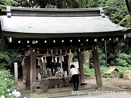 愛知県護国神社手水舎