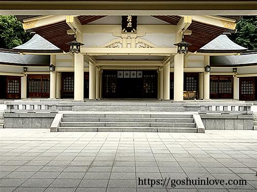 愛知県護国神社拝殿